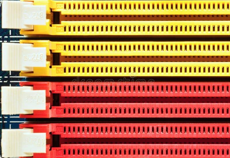 Download Gele en rode schakelaars stock foto. Afbeelding bestaande uit geïntegreerd - 29505506