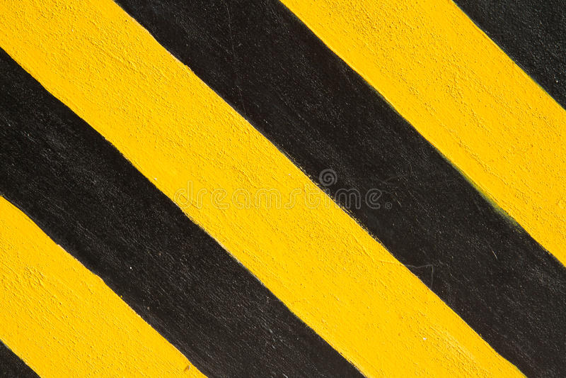 Gele en zwarte lijn royalty-vrije stock afbeelding