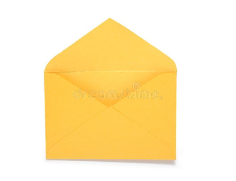 Gele Envelop royalty-vrije stock afbeeldingen