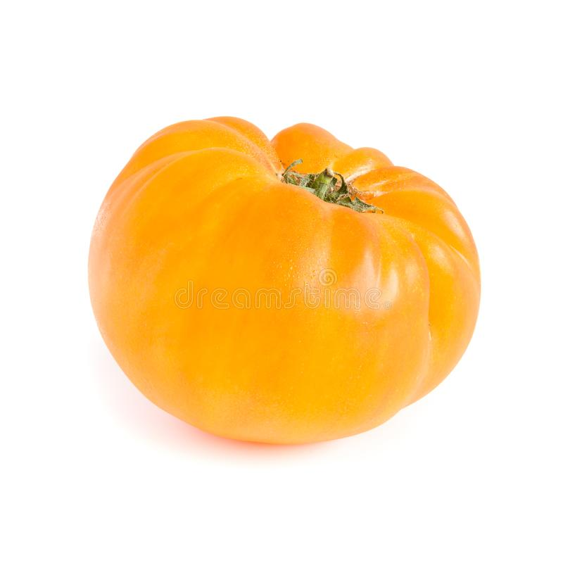 Gele Erfenis Tomatoe royalty-vrije stock afbeelding