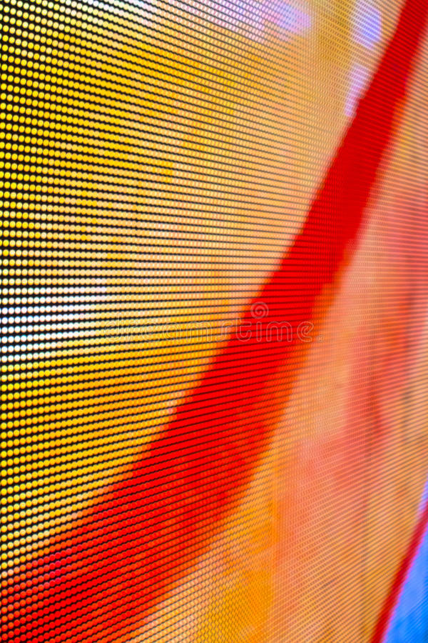 Gele Geleide het schermachtergrond stock fotografie