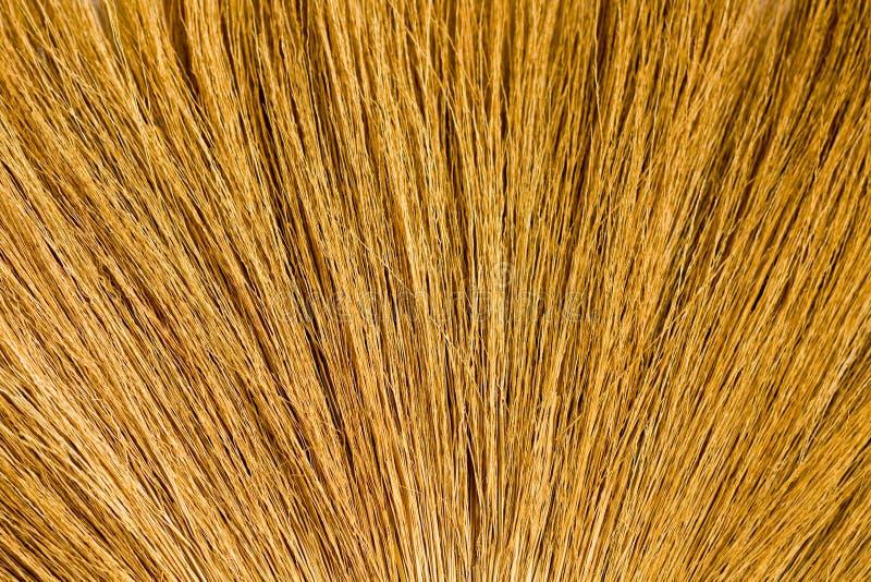 Gele georiënteerde stro natuurlijke textuur als achtergrond royalty-vrije stock foto's