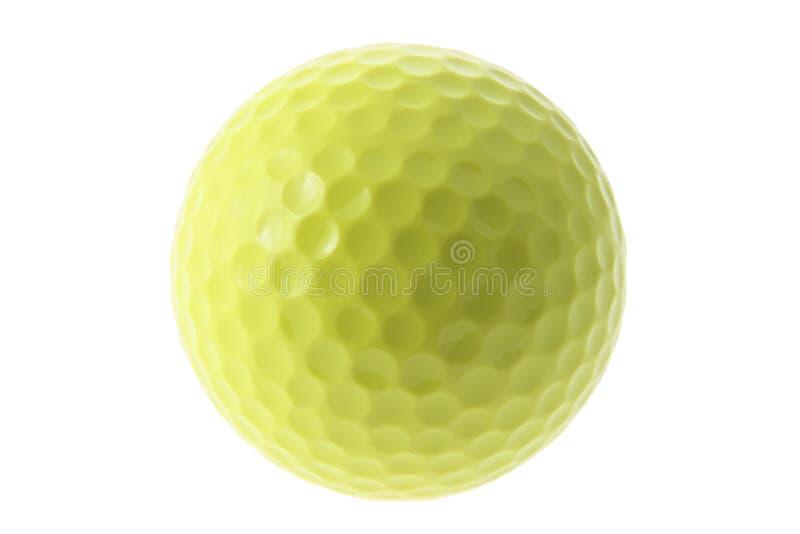 Gele Golfbal royalty-vrije stock fotografie