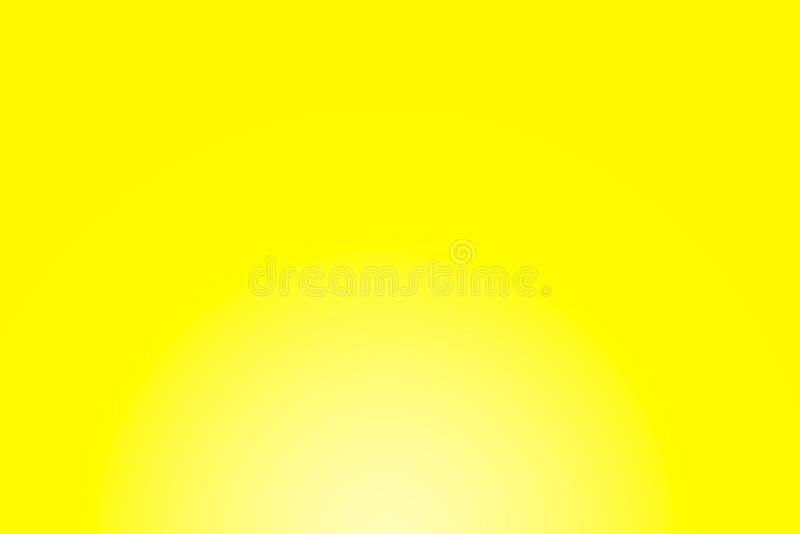 Gele Gradiëntachtergrond stock foto