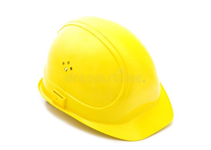 Gele helm stock fotografie
