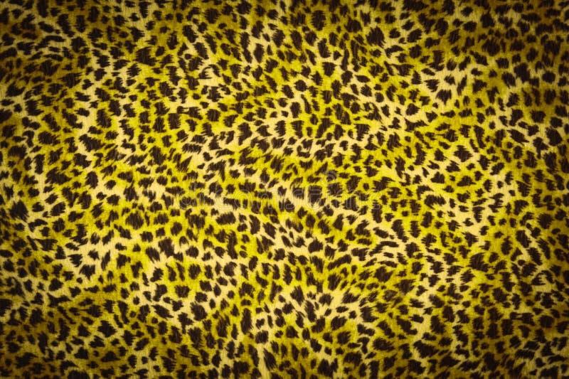 Gele het bonttextuur van de tijger royalty-vrije stock afbeelding