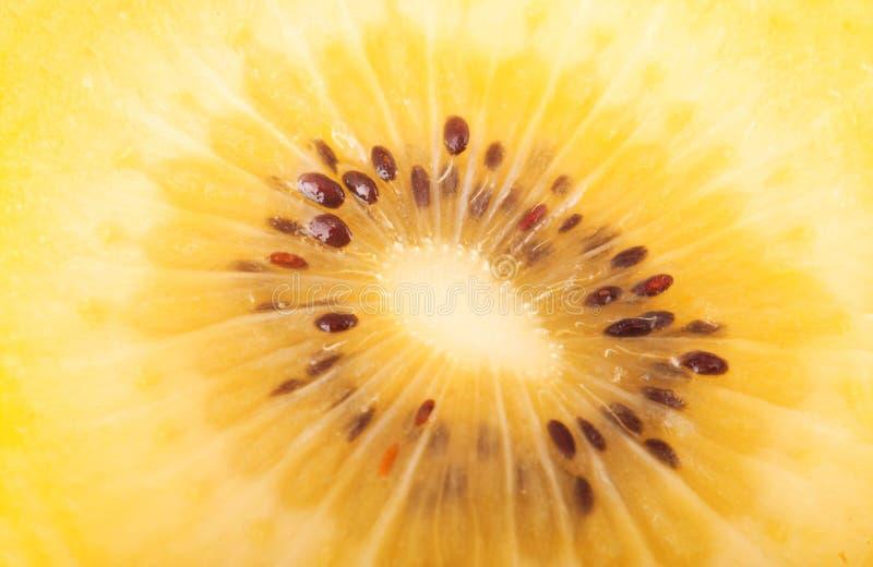 Gele kiwi royalty-vrije stock foto's