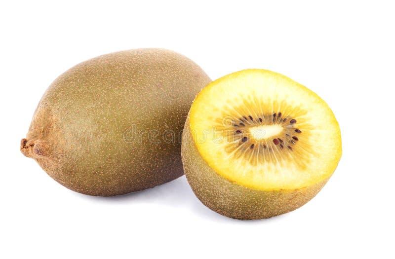 Gele kiwi stock afbeeldingen