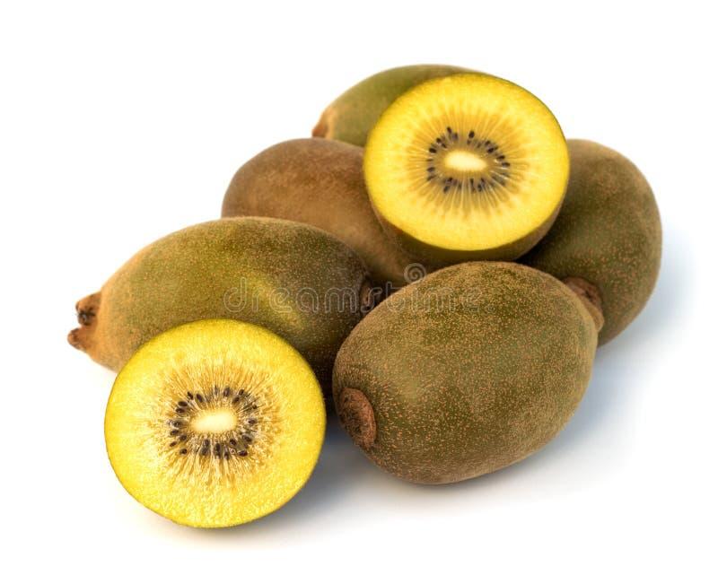 Gele kiwi stock foto's