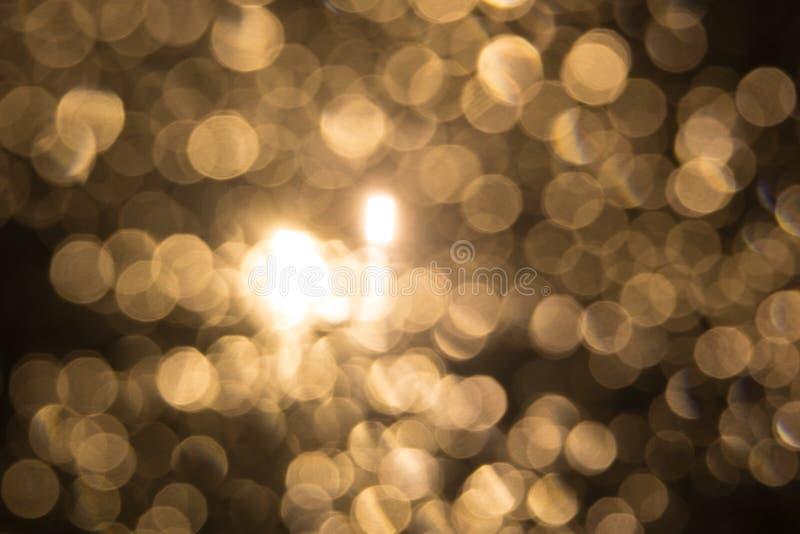 Gele kleur van onscherp licht voor achtergrond royalty-vrije stock fotografie