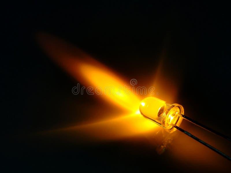 Gele leiden stock afbeelding