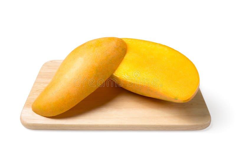 Gele mango royalty-vrije stock fotografie