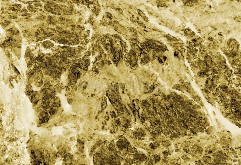 Gele marmeren textuur royalty-vrije stock foto