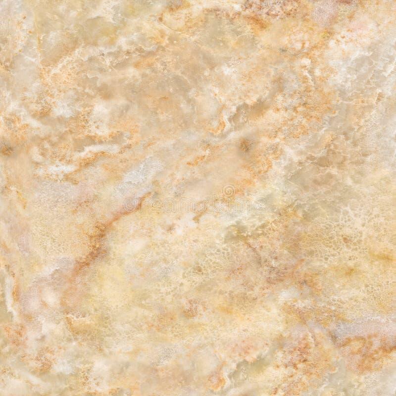 Gele marmeren, Marmeren textuur, Marmeren oppervlakte, Steen voor ontwerp Decoratief detail, stock foto