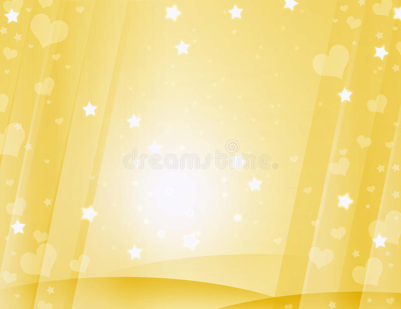 Gele mooie achtergrond royalty-vrije stock foto's