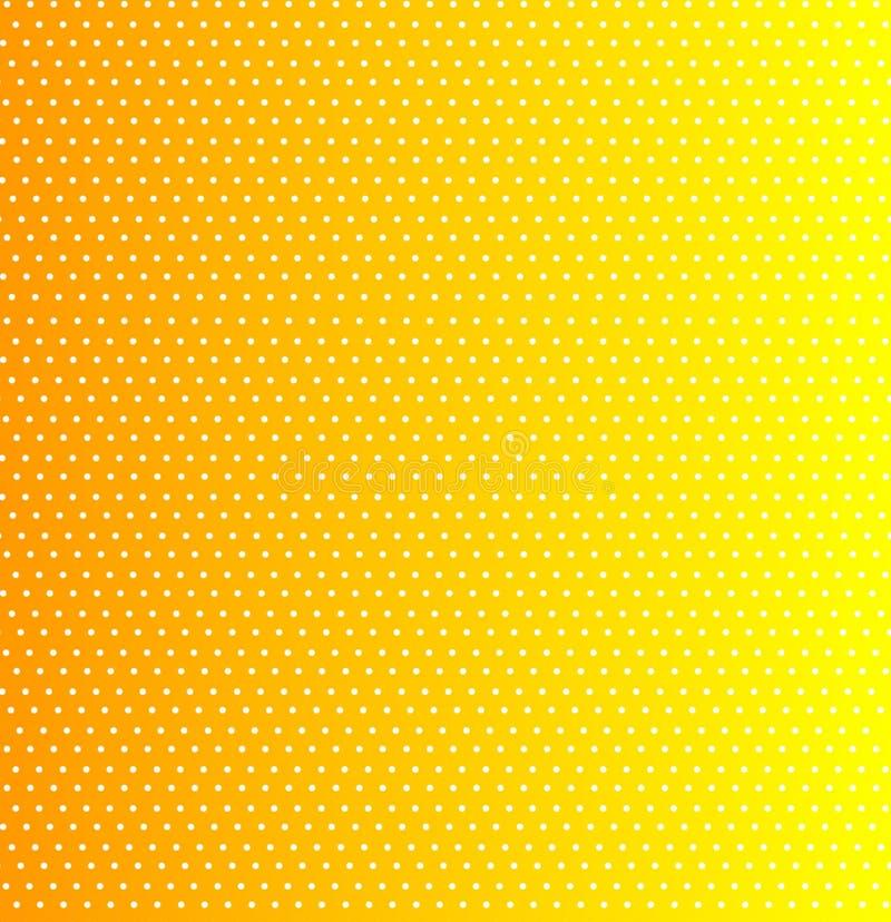 Gele punttextuur stock foto