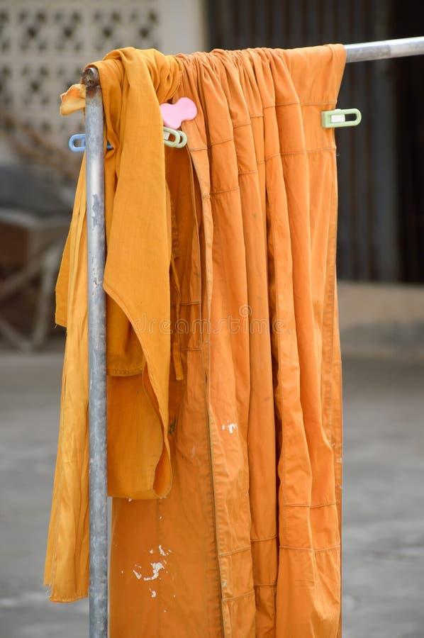 Gele robe royalty-vrije stock foto's