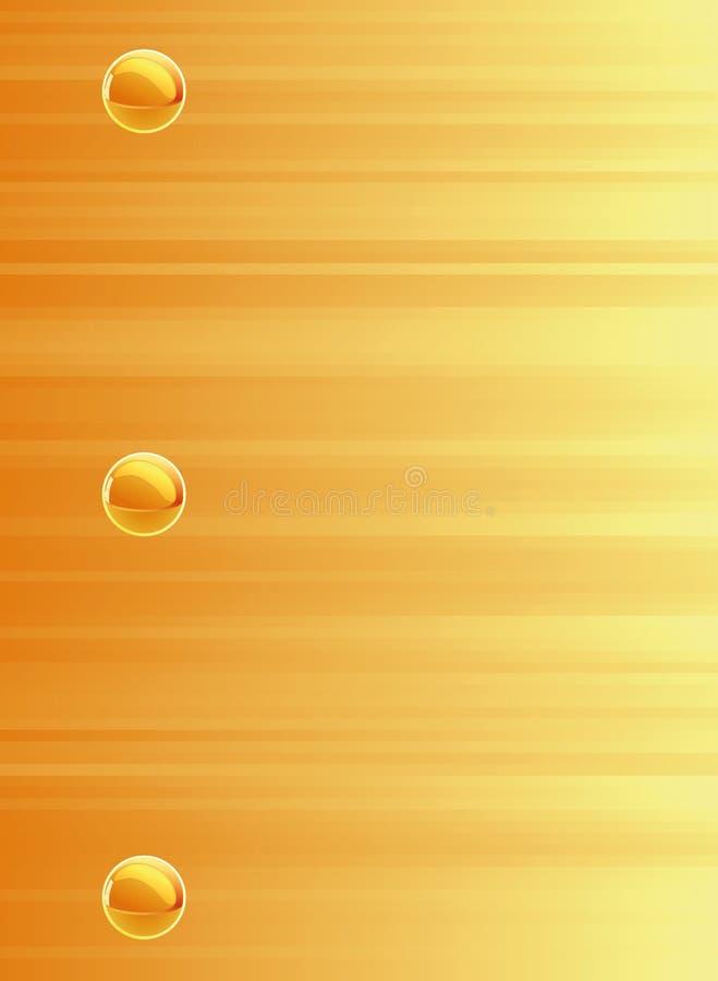 Gele samenstelling als achtergrond