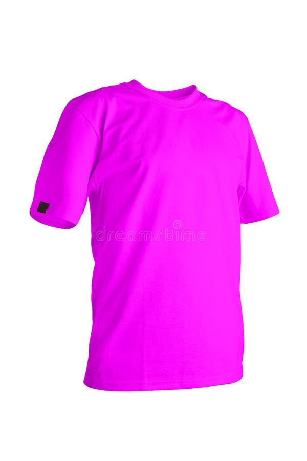 Gele t-shirt royalty-vrije stock foto's