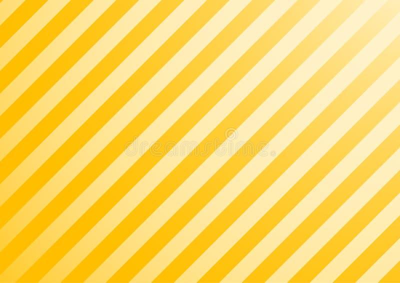Gele vectorachtergrond royalty-vrije illustratie