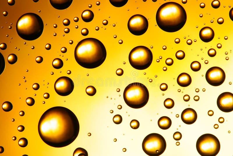 Gele waterdalingen royalty-vrije stock afbeelding