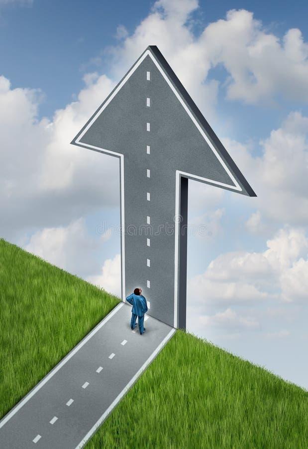 Gelegenheit und Herausforderungen lizenzfreie abbildung