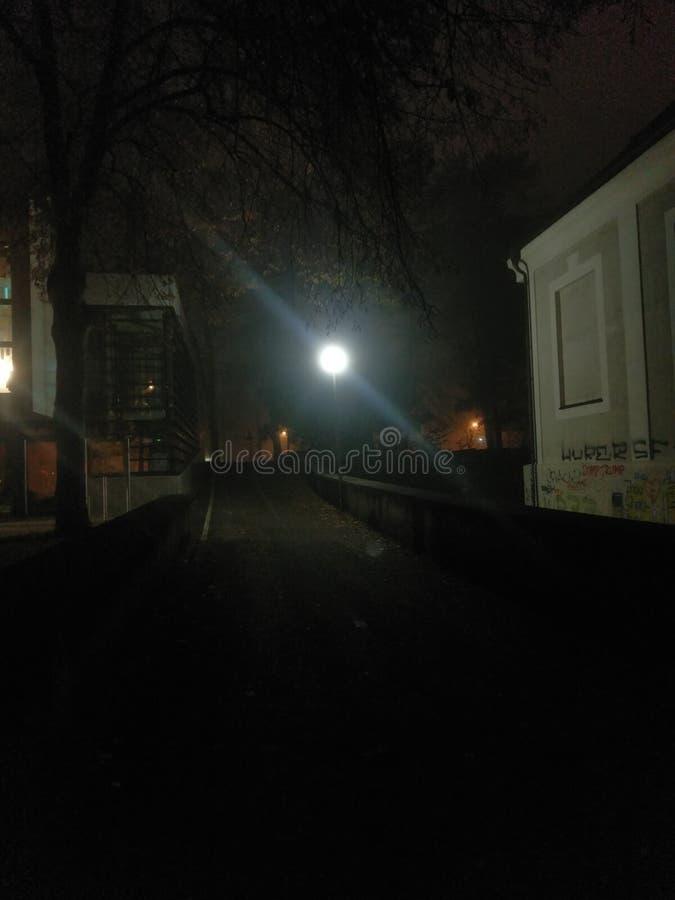 Gelegentlicher Nachtpics, nightstreets stockfoto