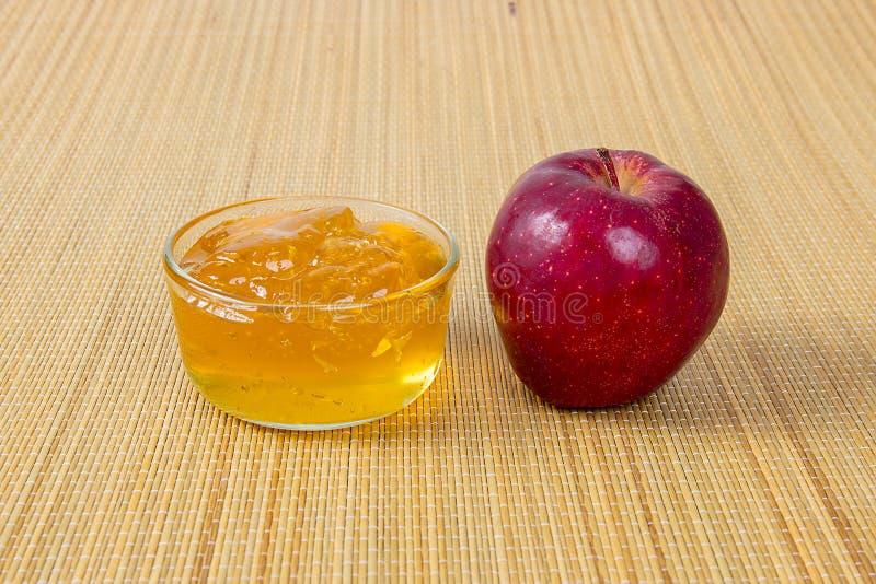 Geleia de Apple, ou doce foto de stock