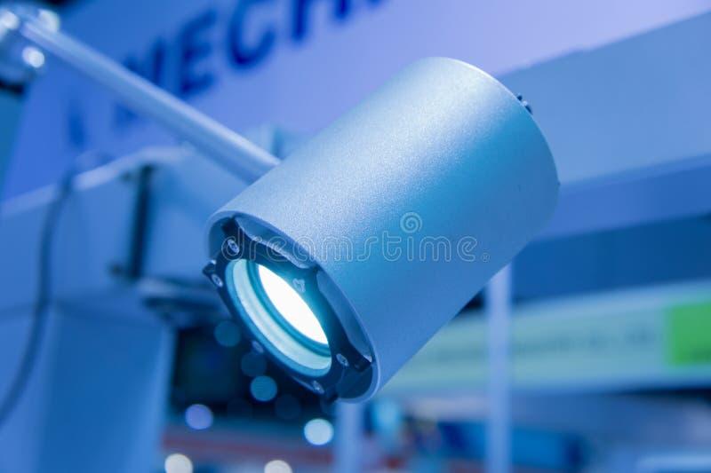 Geleid licht in de high-tech industrie royalty-vrije stock foto's