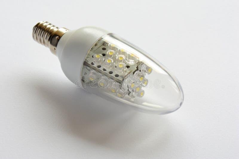Geleide Gloeilamp, Energie - Besparing Royalty-vrije Stock Foto