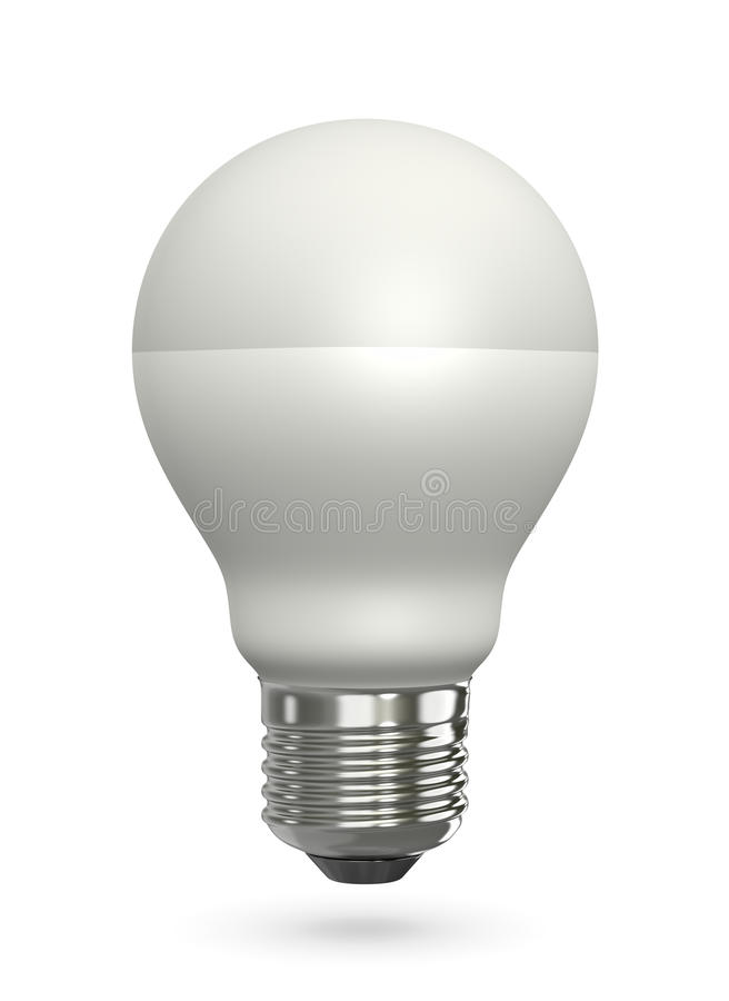 Geleide lamp vector illustratie