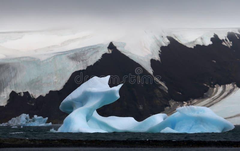 Geleira ártica fotografia de stock royalty free