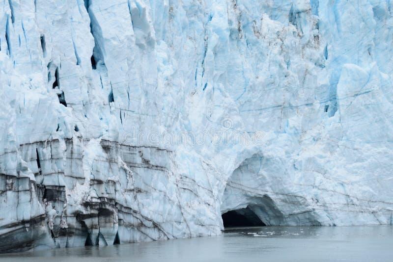 Geleira - Alaska fotografia de stock royalty free