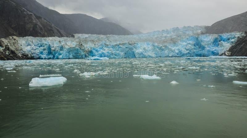 Geleira de Alaska imagem de stock royalty free