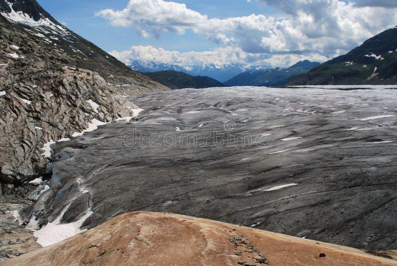 Geleira de Aletsch imagens de stock