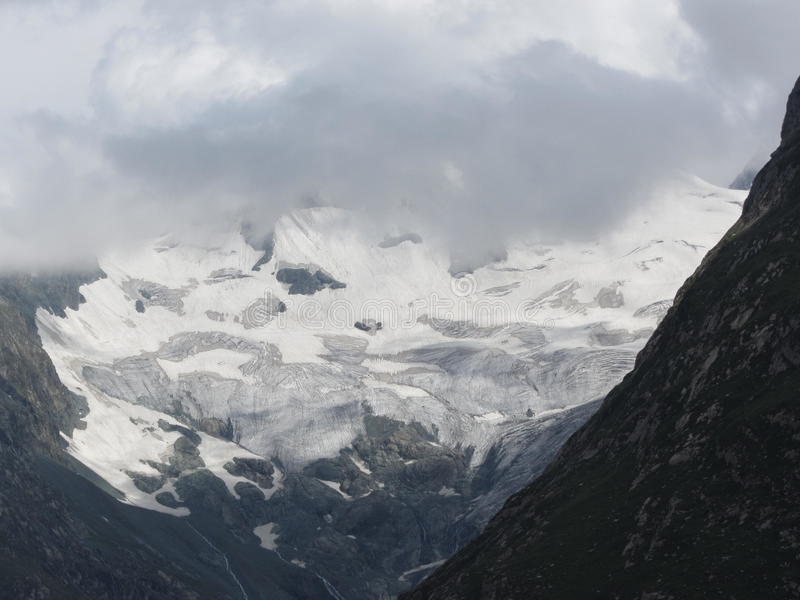 Geleira de Himalaya imagens de stock royalty free