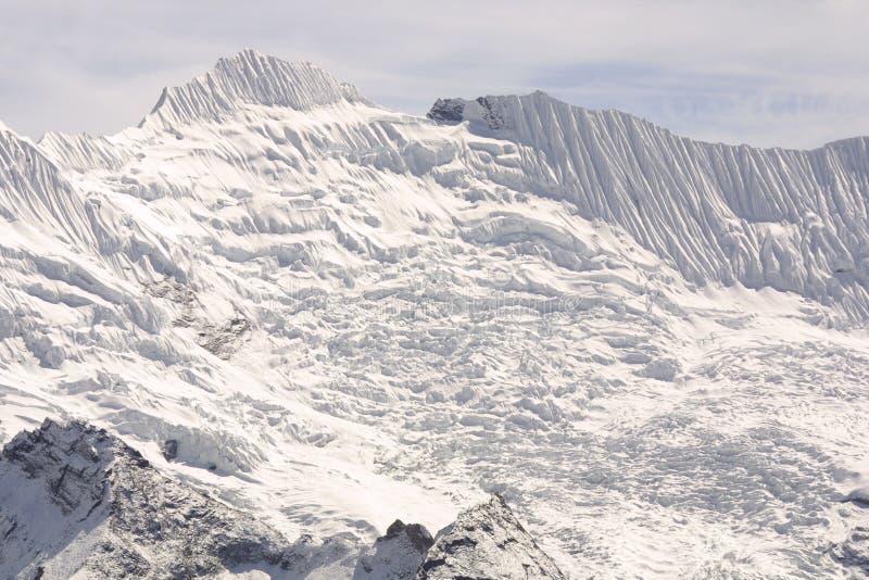 Geleira de Himalaya - Nepal imagem de stock royalty free