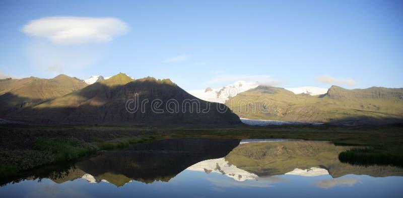 Geleira de Islândia foto de stock royalty free