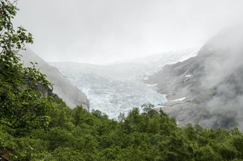 Download Geleira De Noruega - De Briksdal - Parque Nacional De Jostedalsbreen Foto de Stock - Imagem de hiking, erosão: 29833300