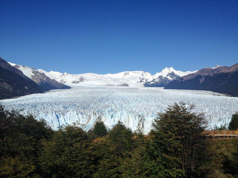 Geleira de Perito Moreno foto de stock