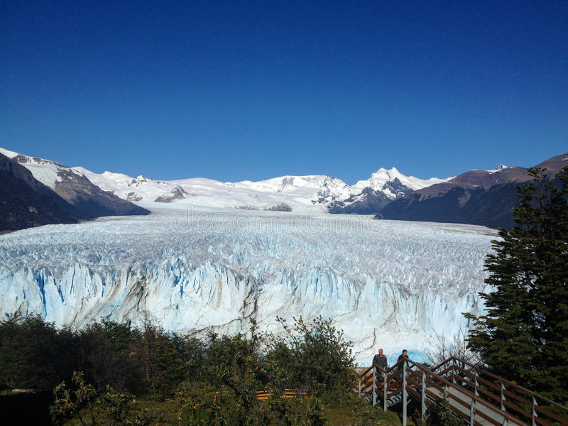 Geleira de Perito Moreno imagens de stock