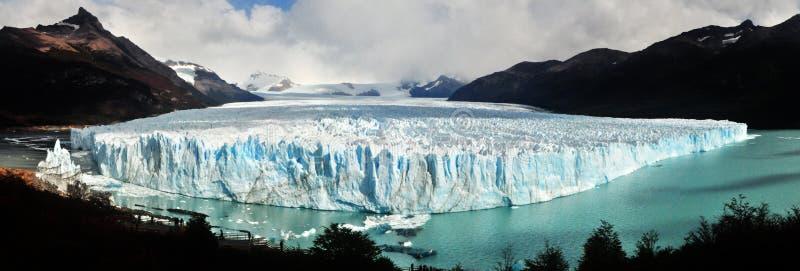 Geleira de Perito Moreno em Argentina fotos de stock royalty free