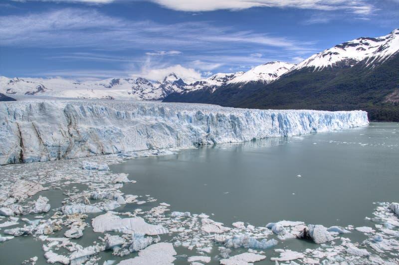 Geleira de Perito Moreno no EL Calafate, Argentina foto de stock