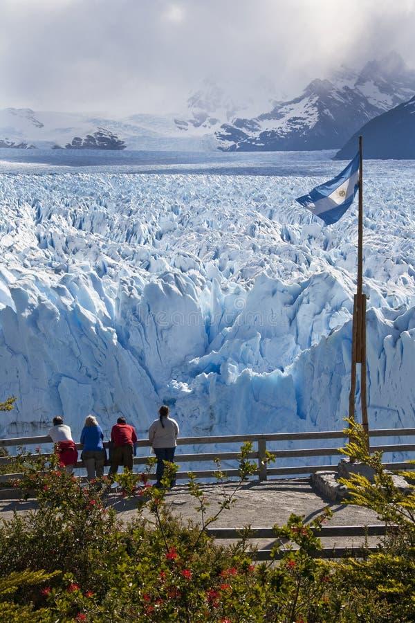 Geleira de Perito Moreno - Patagonia - Argentina foto de stock
