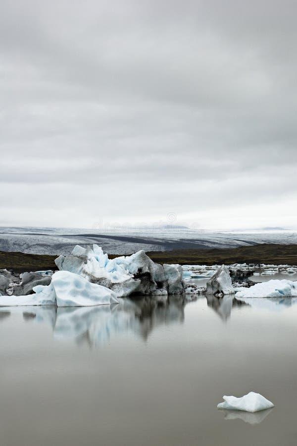 Geleira de Vatnajokull foto de stock