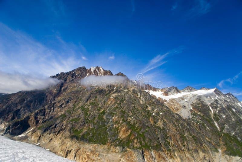 Geleira em Skagway Alaska imagens de stock royalty free