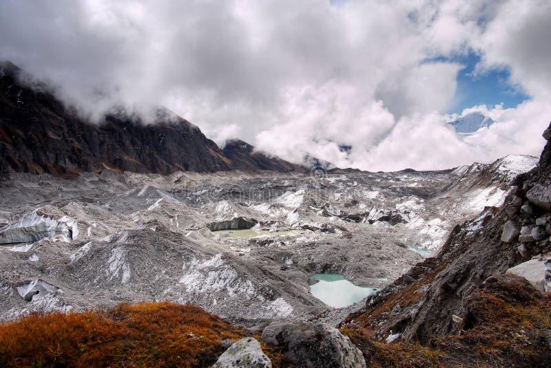 Geleira, Himalaya imagens de stock