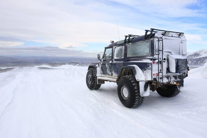 Geleira Islândia de Langjokull imagens de stock royalty free
