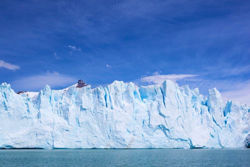 Geleira no Patagonia. imagens de stock