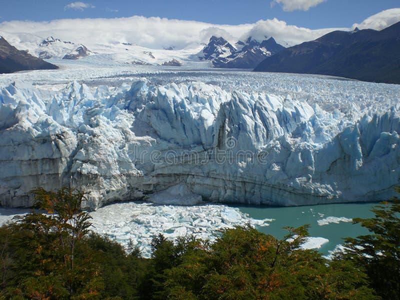 A geleira no Patagonia, Argentina de Perito Moreno. fotos de stock royalty free